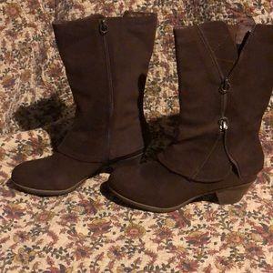 Matisse suede brown boots